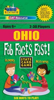 Ohio Fab Facts Fast Card Game