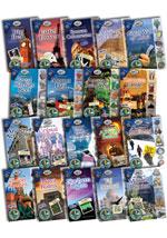 Around the World Set of 19 Paperbacks