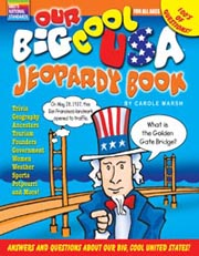 Our Big Cool USA Jeopardy Book
