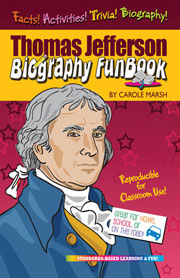Thomas Jefferson Biography FunBook