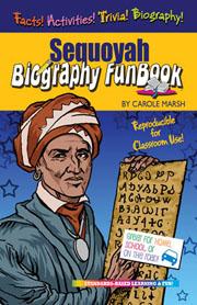 Sequoyah Biography FunBook