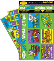 Carole Marsh's Wow! Writing Tips! Bulletin Boards with Borders