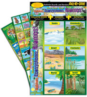 Home, Sweet Home! Habitats, Ecosystems, Biomes! Bulletin Boards with Borders