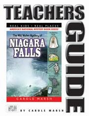The Wild Water Mystery at Niagara Falls Teacher's Guide