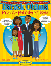 Barack Obama Presidential Coloring Book