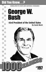 George W. Bush: 43rd President of the United States Consumable Pack 30
