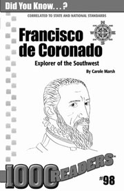 Francisco de Coronado: Explorer of the Southwest Consumable Pack 30