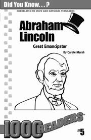 Abraham Lincoln: Great Emancipator Consumable Pack 30