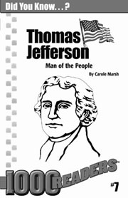 Thomas Jefferson: Man of the People Consumable Pack 30