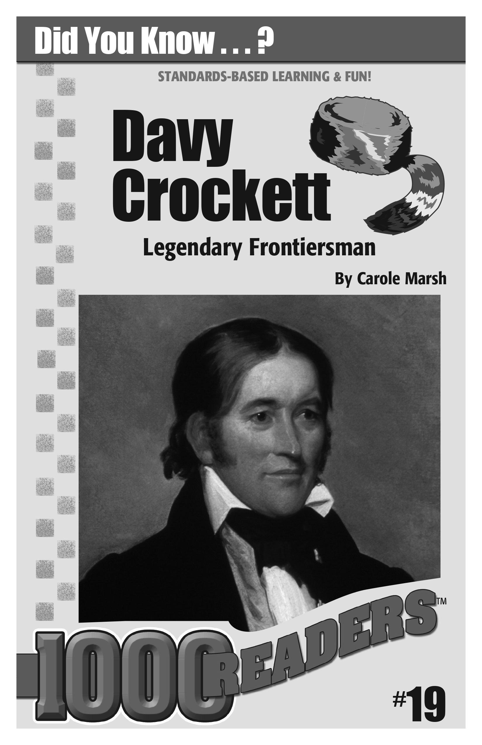 Davy Crockett: Legendary Frontiersman Consumable Pack 30