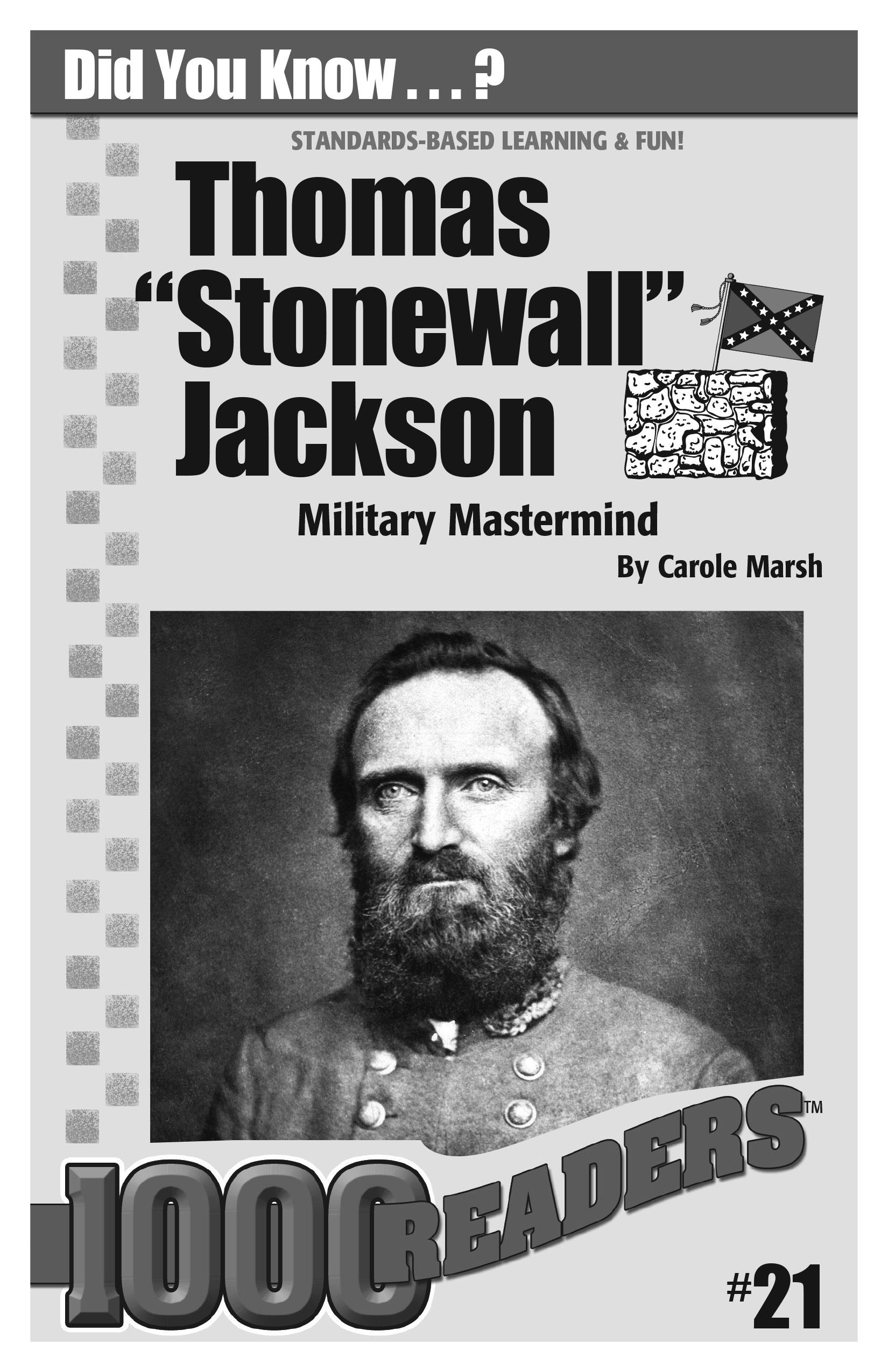 Thomas 'Stonewall' Jackson: Military Mastermind Consumable Pack 30