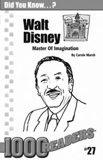 Walt Disney: Master of Imagination Consumable Pack 30