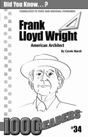Frank Lloyd Wright: American Architect Consumable Pack 30