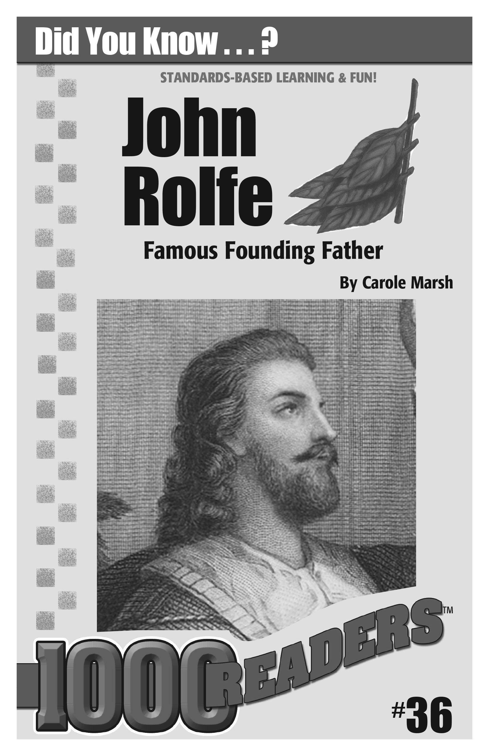 John Rolfe: Famous Founding Father Consumable Pack 30