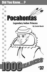 Pocahontas: Legendary Indian Princess Consumable Pack 30