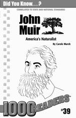 John Muir: America's Naturalist Consumable Pack 30