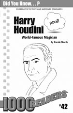 Harry Houdini: World-Famous Magician Consumable Pack 30