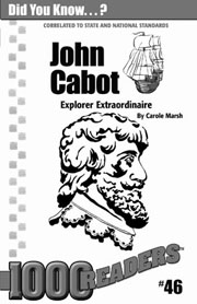 John Cabot: Explorer Extraordinaire Consumable Pack 30