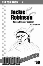 Jackie Robinson: Baseball Barrier Breaker Consumable Pack 30