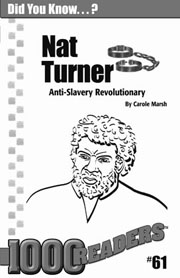 Nat Turner: Anti-slavery Revolutionary Consumable Pack 30