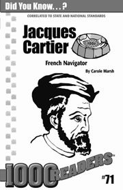 Jacques Cartier: French Navigator Consumable Pack 30