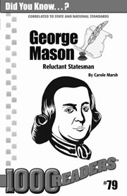 George Mason: Reluctant Statesman Consumable Pack 30