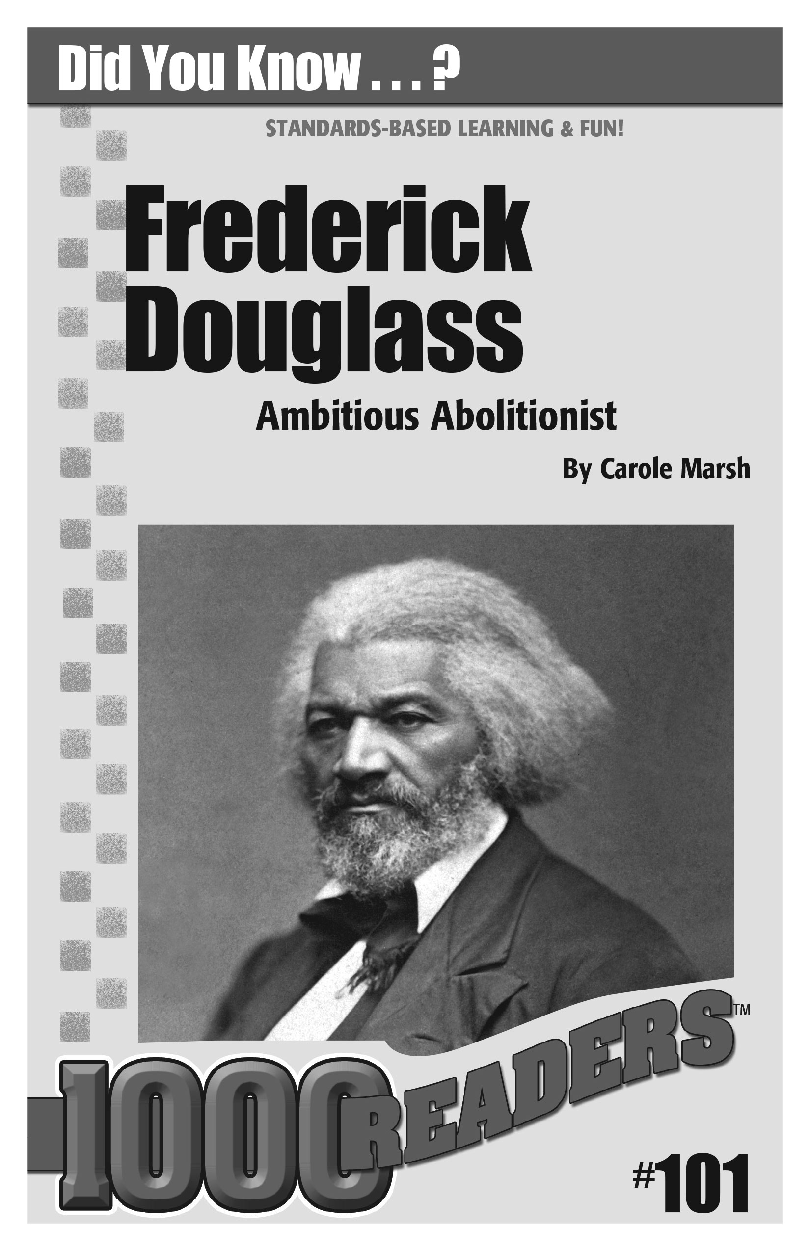 Frederick Douglass: Ambitious Abolitionist Consumable Pack 30