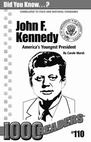John F. Kennedy: America's Youngest Elected President Consumable Pack 30