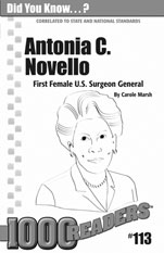 Antonia C. Novello: First Female U.S. Surgeon General Consumable Pack 30