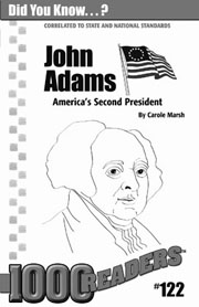 John Adams: America's Second President Consumable Pack 30