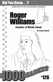 Roger Williams: Founder of Rhode Island Consumable Pack 30
