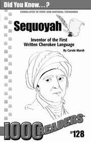 Sequoyah: Inventor of the First Written Cherokee Alphabet Consumable Pack 30