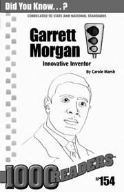 Garrett Morgan: Innovative Inventor Consumable Pack 30
