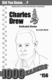 Charles Drew: Dedicated Doctor Consumable Pack 30