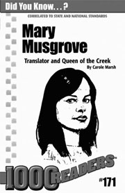 Mary Musgrove: Translator and Queen of the Creek Consumable Pack 30