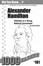 Alexander Hamilton: Defender of a Strong National Government Consumable Pack 30