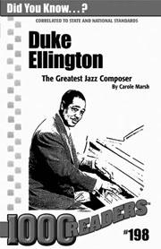 Duke Ellington: The Greatest Jazz Composer Consumable Pack 30