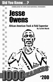 Jesse Owens: African American Track & Field Super Star Consumable Pack 30