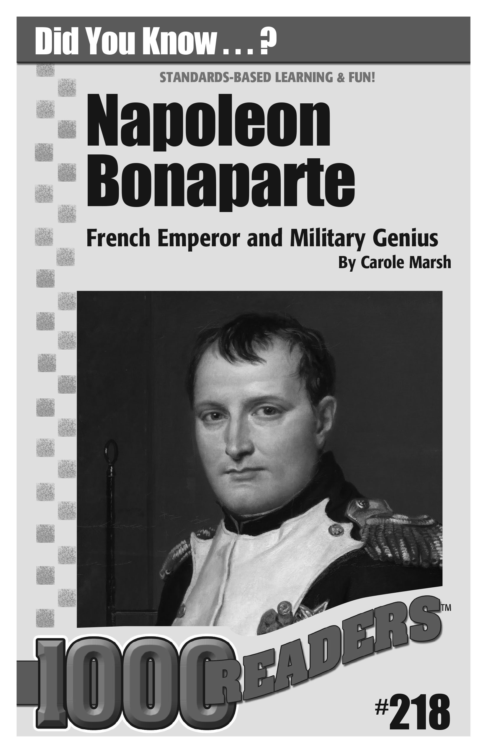 Napoleon Bonaparte: French Emperor and Military Genius Consumable Pack 30