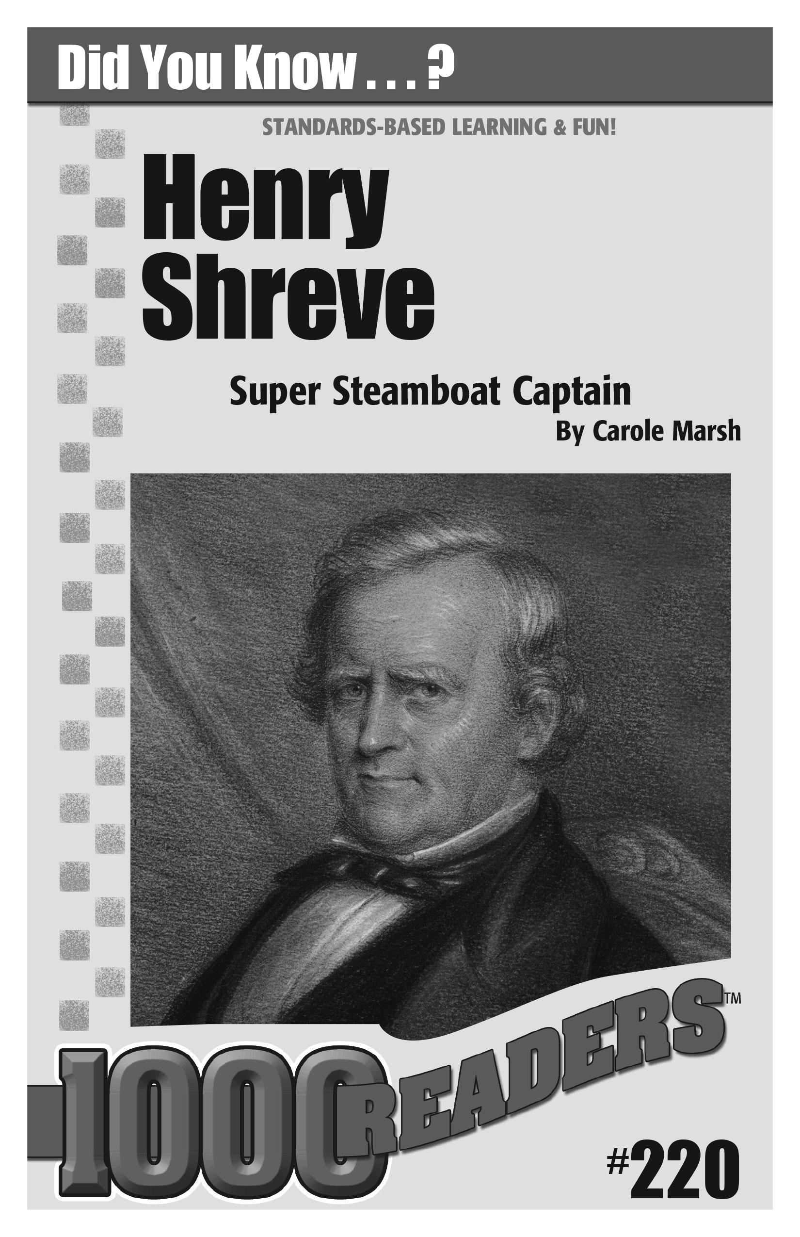 Henry Shreve: Super Steamboat Captain Consumable Pack 30