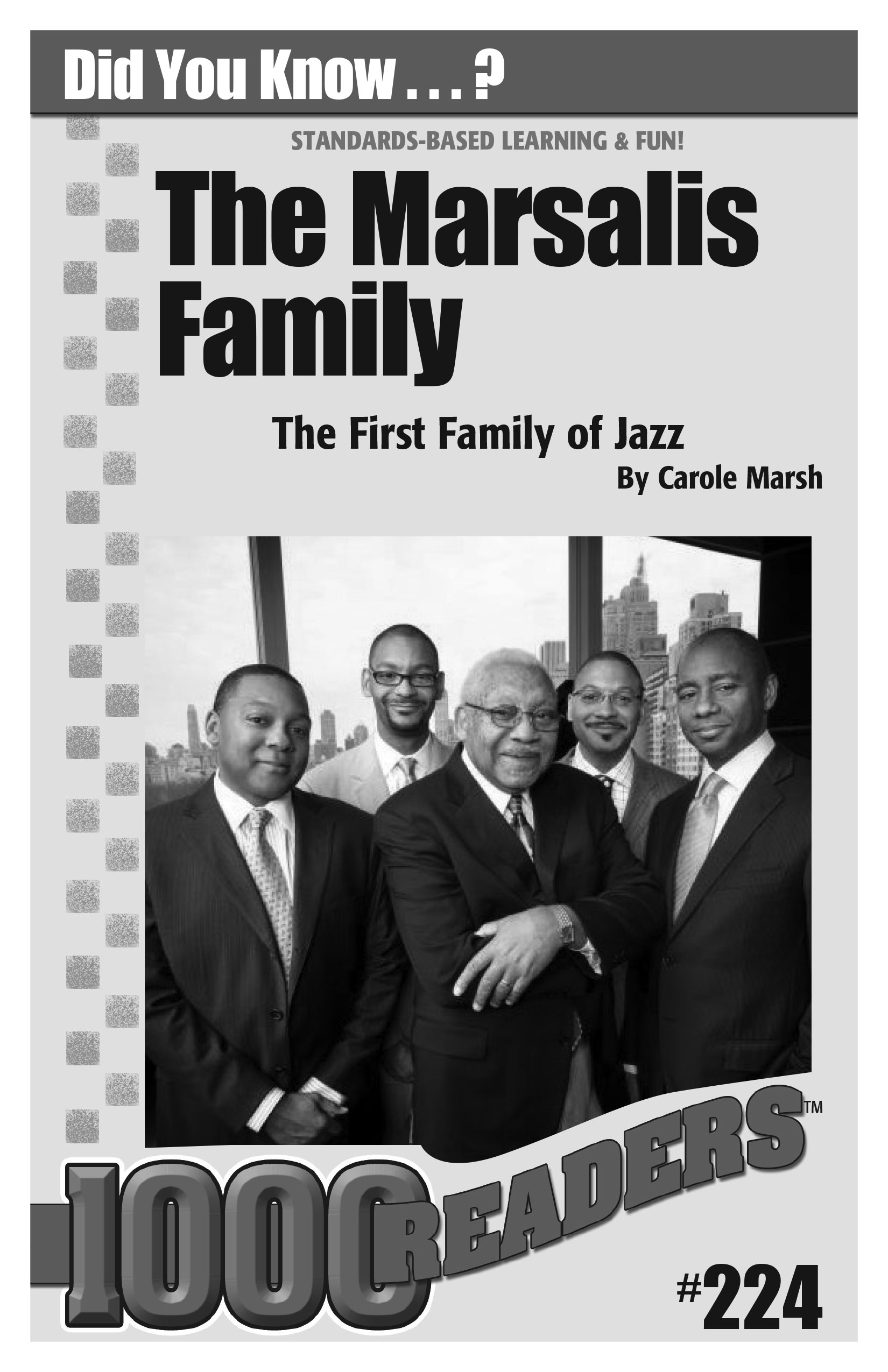 The Marsalis Family: The First Family of Jazz Consumable Pack 30