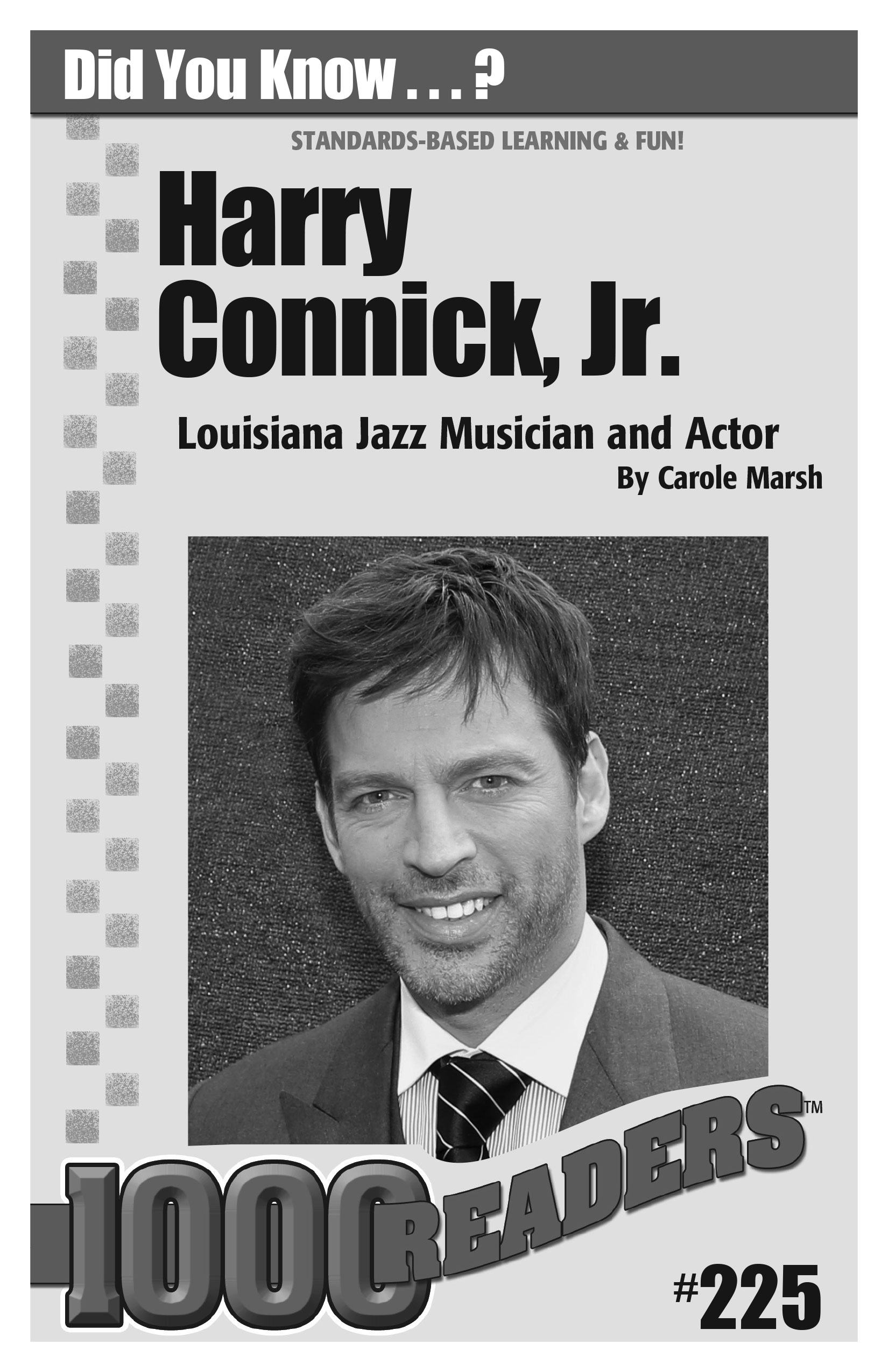 Harry Connick Jr.: Louisiana Jazz Musician and Actor Consumable Pack 30