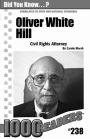 Oliver W. Hill: Civil Rights Attorney Consumable Pack 30