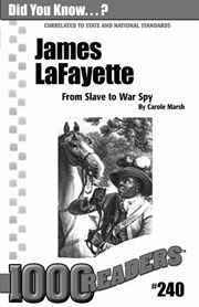 James Lafayette: From Slave to War Spy Consumable Pack 30