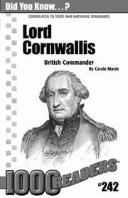 Lord Cornwallis: British Commander Consumable Pack 30