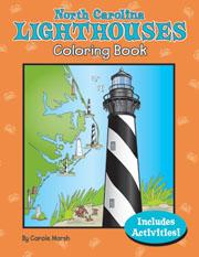 North Carolina Lighthouses Coloring Book