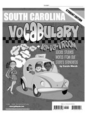South Carolina Vocabulary: Va-Va-Vroom! Social Studies Words From Our State's Standards-Student Book