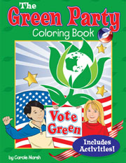 The Green Party Coloring Book