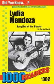 Lydia Mendoza: Songbird of the Border