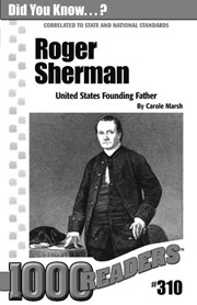 Roger Sherman: United States Founding Father Consumable Pack 30